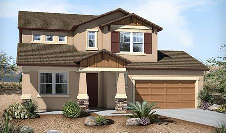 Exterior B of the Candace floor plan in the Westview Pointe community