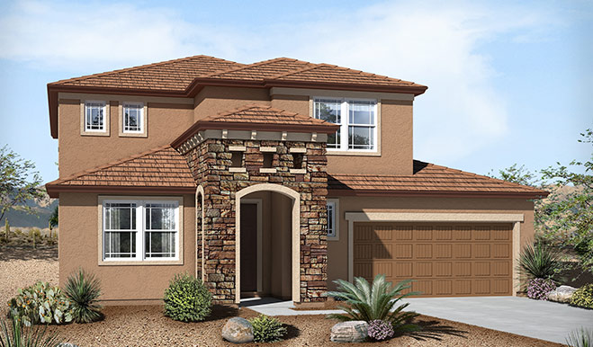 Exterior C of the Candace floor plan in the Westview Pointe community
