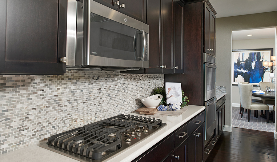 Kitchen of the Caroline floor plan