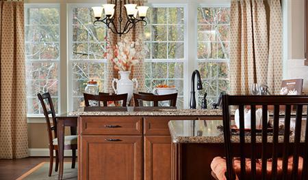 Kitchen in Charlotte model home