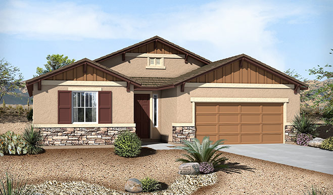 Exterior B of the Chloe floor plan in the Westview Pointe community