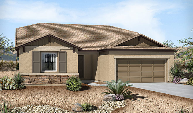 Exterior B of the Claudia floor plan in the Westview Pointe community