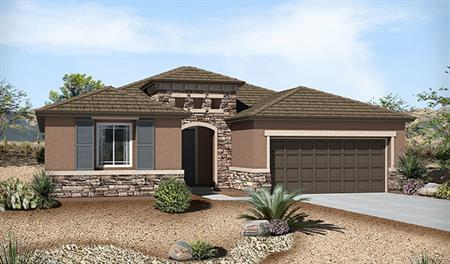 Exterior C of the Claudia floor plan in the Westview Point community