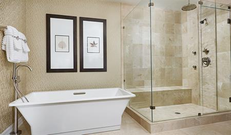 Master bathroom of the Daley floor plan