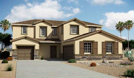 Exterior B of the Daley floor plan in the Granite Hills community