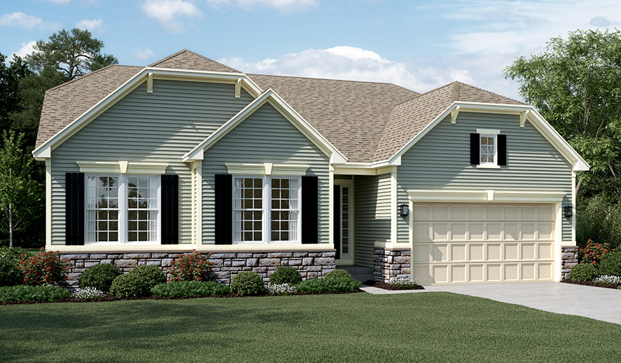 New homes in berryville va home builders in berryville glen for Modern homes northern virginia