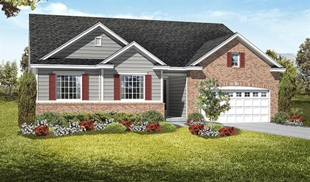 Exterior C of the Daniel floor plan in the Royal Farms community
