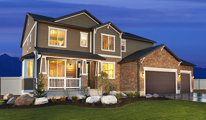 New homes in salt lake city ut home builders in three forks American west homes floor plans