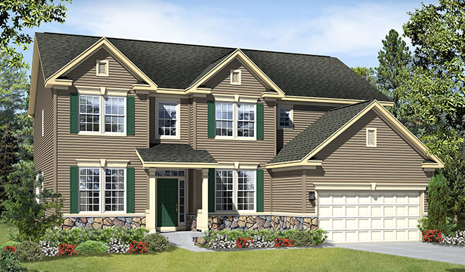 Old Richmond American Floor Plans House Design And