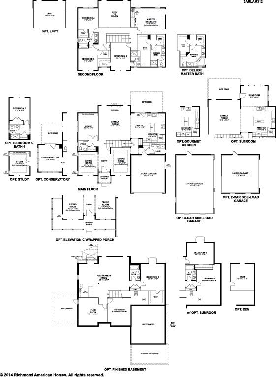 The Darla floor plan