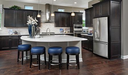 Kitchen in the Dayton floor plan