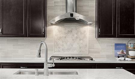 Kitchen sink in the Dayton floor plan