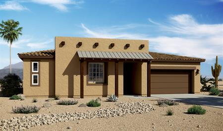 Exterior C of the Delaney floor plan in the Starr Ridge community