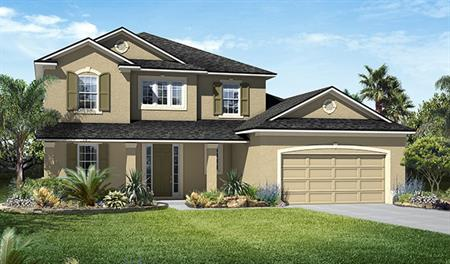 Exterior B of the Desiree floor plan