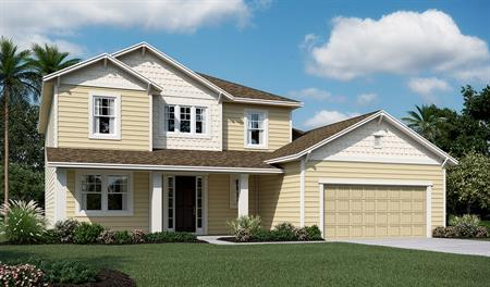 Exterior L of the Desiree floor plan