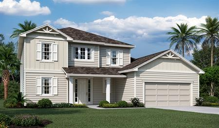 Exterior M of the Desiree floor plan