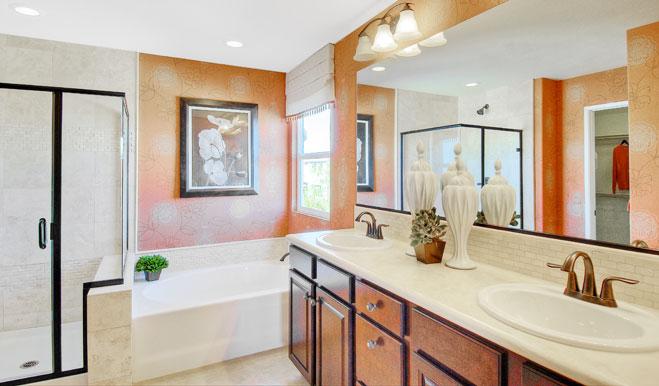Bathroom of the Dillon floor plan