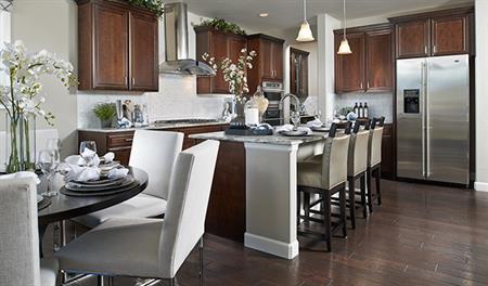 Kitchen in the Dillon floor plan