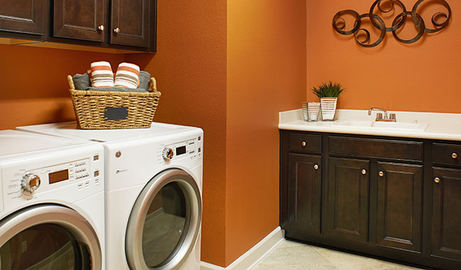 Laundry in the Dillon floor plan