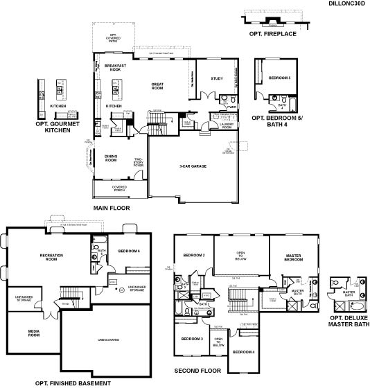 Richmond homes ranch floor plans