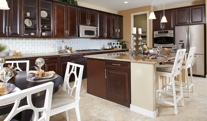 Kitchen in the Dominic floor plan