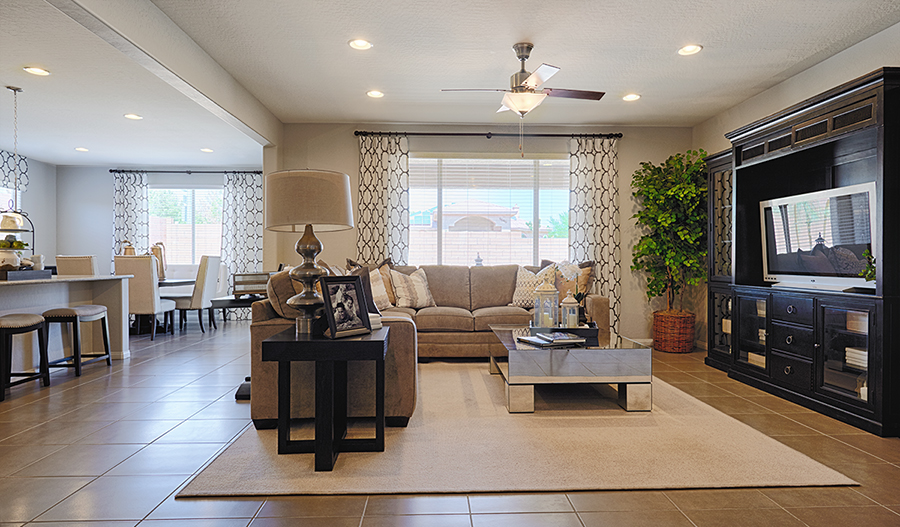Dominic Floor Plan At Andante At Cadence Richmond American Homes