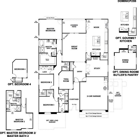 New houses at arroyo norte phoenix community richmond for Richmond homes ranch floor plans