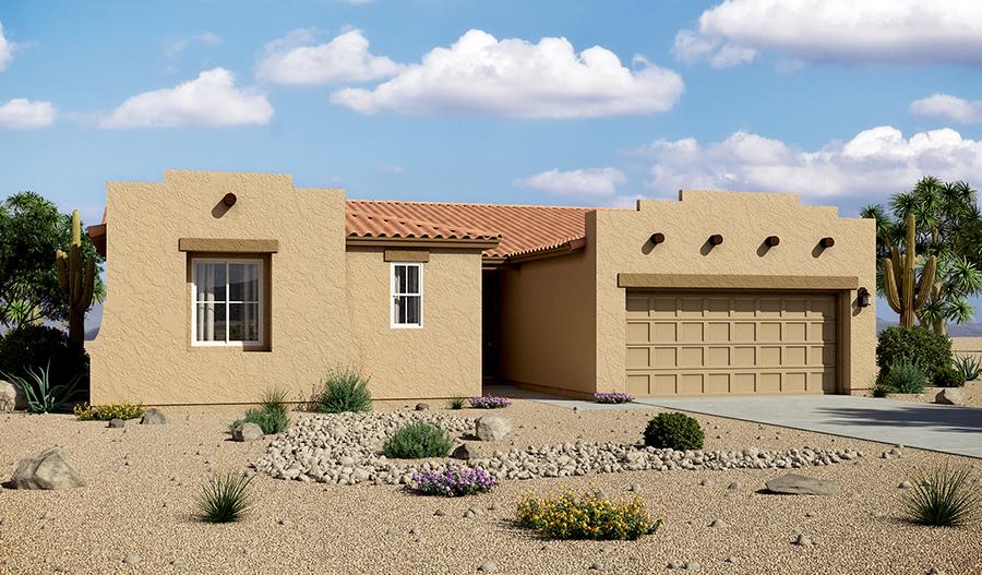 3 Bedroom, 2.5 Bathroom, 2 Car Garage Floor Plans In