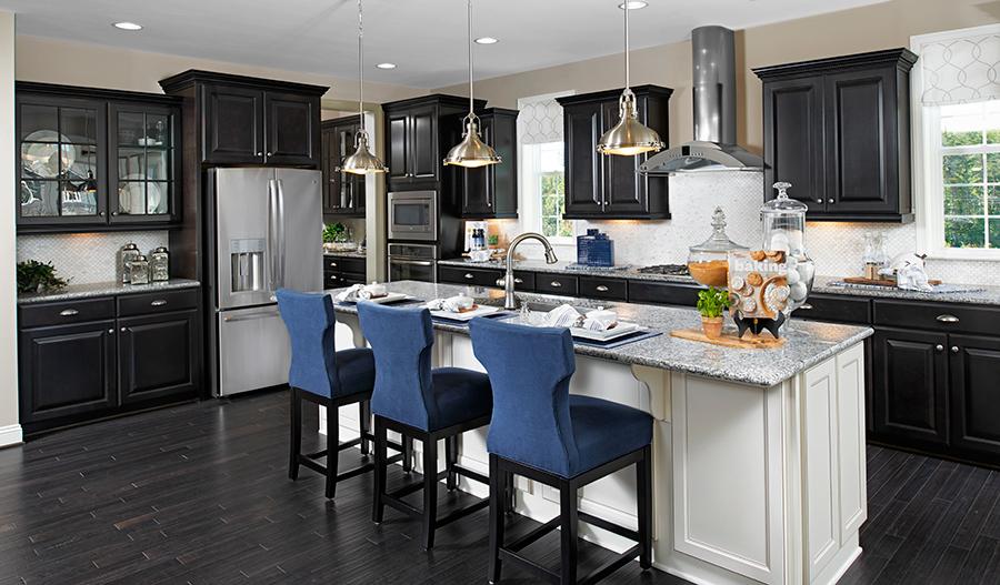 Kitchen in the Donovan floor plan