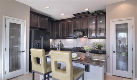 Kitchen in the Evan floor plan