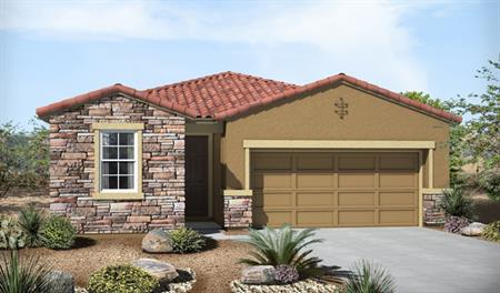 Exterior C of the Fenton floor plan in the Eagle Crest Ranch community
