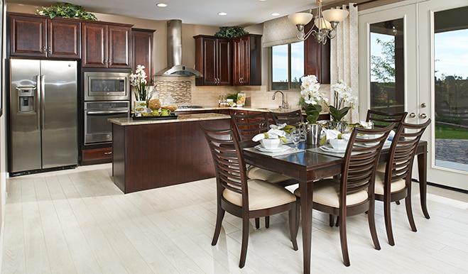 Kitchen in the Franklin floor plan