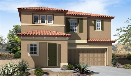 Exterior B of the Franklin floor plan in the Eagle Crest Ranch community