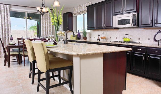 Kitchen in the Fremont floor plan