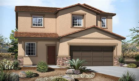 Exterior B of the Fremont floor plan in the Skyline Ridge community