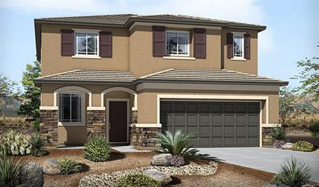 Exterior C of the Fremont floor plan in the Skyline Ridge community