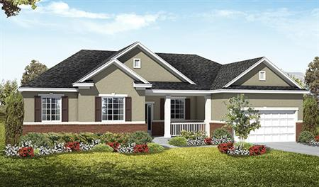 Exterior A of the Haley floor plan in the Royal Farms community