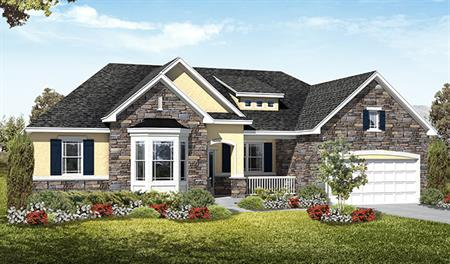 Exterior C of the Haley floor plan in the Royal Farms community
