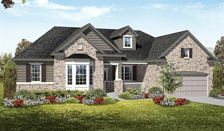 Exterior D of the Haley floor plan in the Royal Farms community