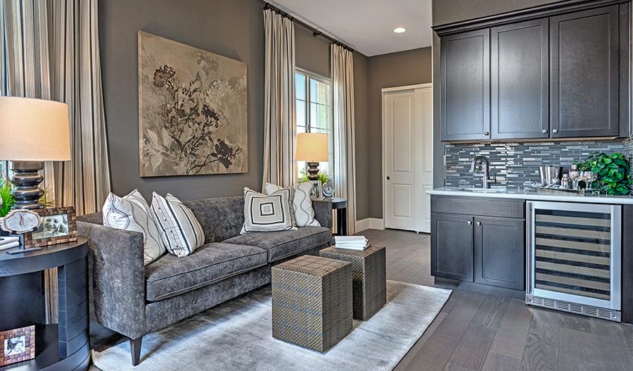 Guest suite in the Hanford floor plan