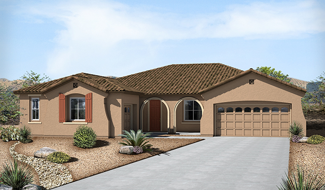 New Houses At Sossaman Estates Phoenix Community