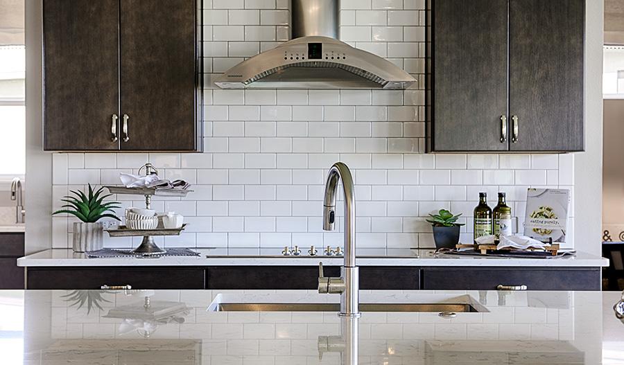 Kitchen in the Harmon floor plan
