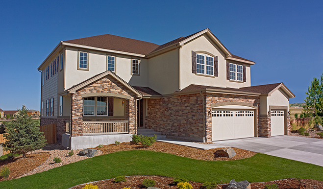 New homes in aurora co home builders in the summit at for Richmond house plan