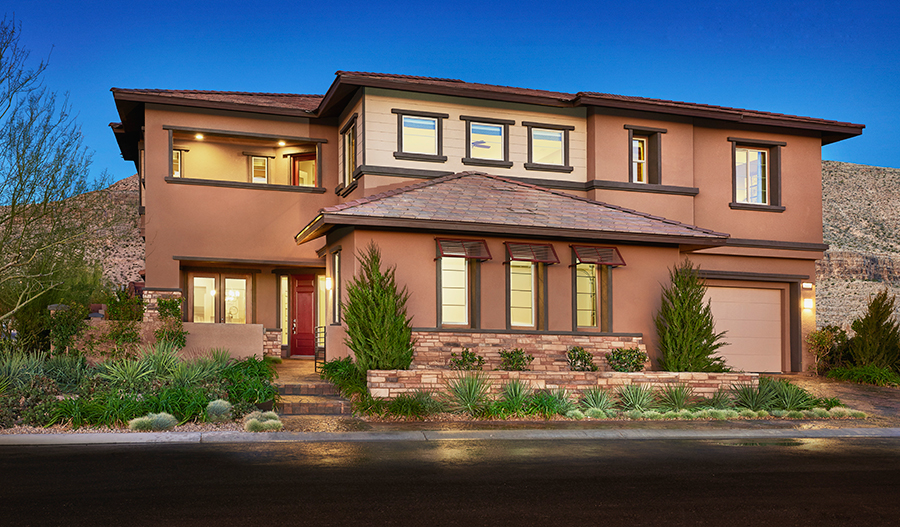 New homes in las vegas nv home builders in monte bello for New american home las vegas