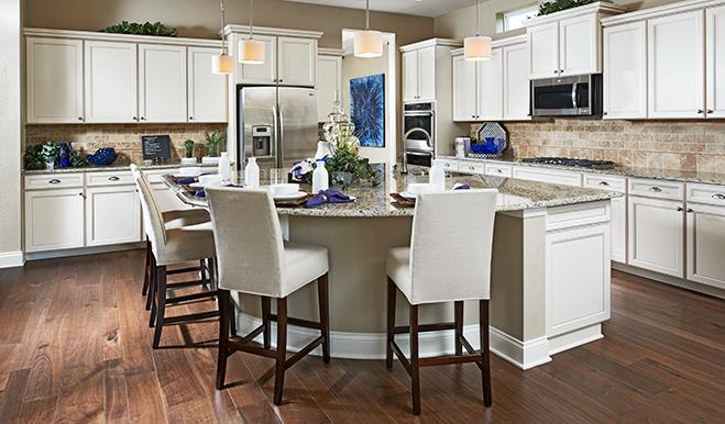 Kitchen in the Heidi floor plan