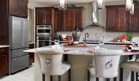 Kitchen of the Heidi floor plan