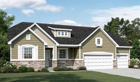 Exterior E of the Helena floor plan in the Ironwood community