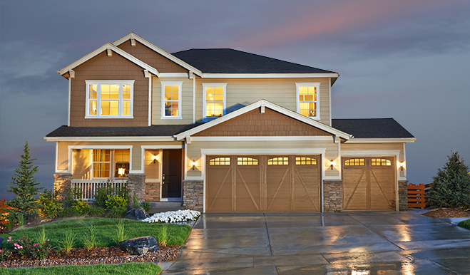 New homes in colorado springs co home builders in for Richmond house plan