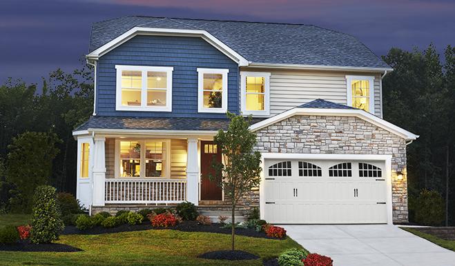 hemingway floor plan at tanyard cove | richmond american homes