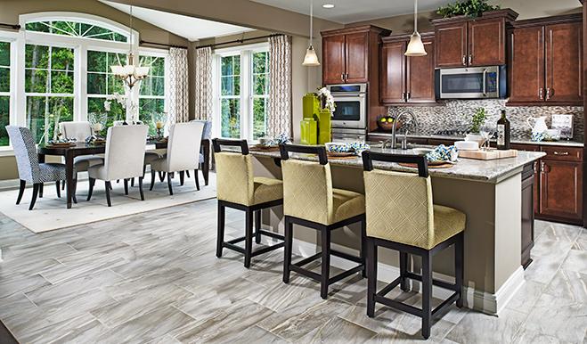 Kitchen of the Hemingway floor plan
